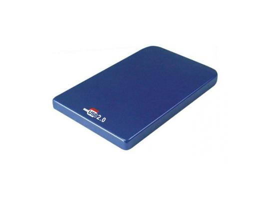 "Мобил рек AgeStar SUB2O1 Blue usb2.0 to 2,5""hdd SATA алюминий"