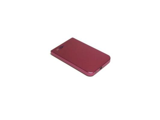 Мобил рек AgeStar SUB2O1 Red usb2.0 to 2,5hdd SATA алюминий