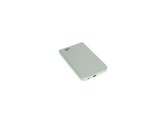 """Мобил рек AgeStar SUB2O1 Silver usb2.0 to 2,5""""hdd SATA алюминий"""