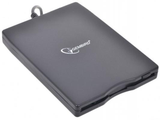 """Внешний оптический накопитель FDD 1.44Mb 3.5"""" Gembird (Teac) Black, USB"""