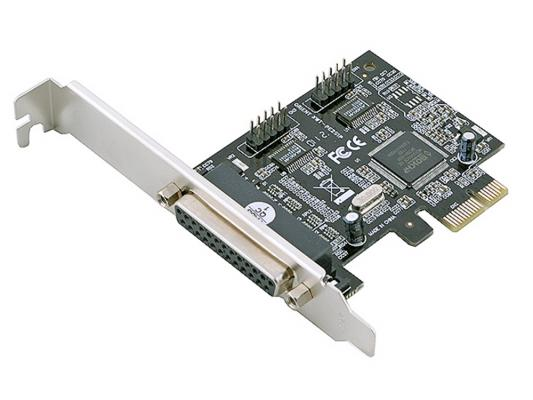 Контроллер Orient XWT-PE2S1P, PCI-E --> 2xCOM+1LPT, ret контроллер pci e wch382 1xlpt 2xcom ret [asia pcie wch 2s1p lp]