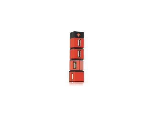 """все цены на Концентратор USB 2.0 Konoos UK-05 """"Небоскреб"""", 4 порта"""