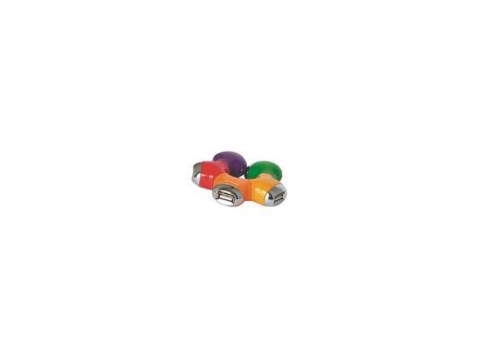 "все цены на Концентратор USB 2.0 Konoos UK-07 ""Цветок"", 4 порта онлайн"