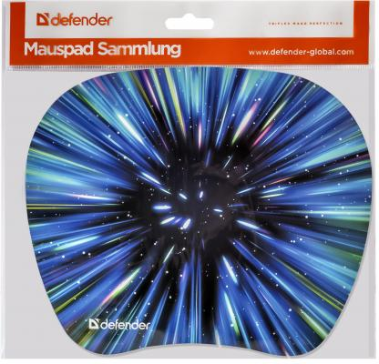Картинка для Коврик для  мыши Defender  пластиковый Turbo (ассорти- 4 вида) 210x175x1.2 мм