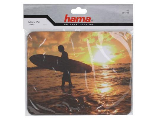 Коврик для мыши Hama H-54728   Surfer, толщина 3 мм, ПВХ