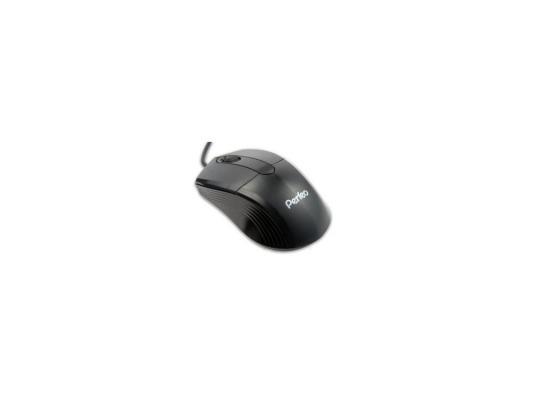 все цены на  Мышь проводная Perfeo PF-203-OP USB черный  онлайн