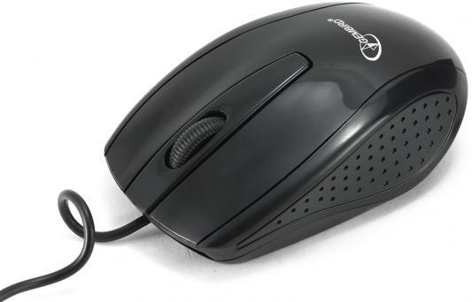 Мышь проводная Gembird MUSOPTI8-806U чёрный USB мышь проводная gembird musopti8 809u чёрный красный usb