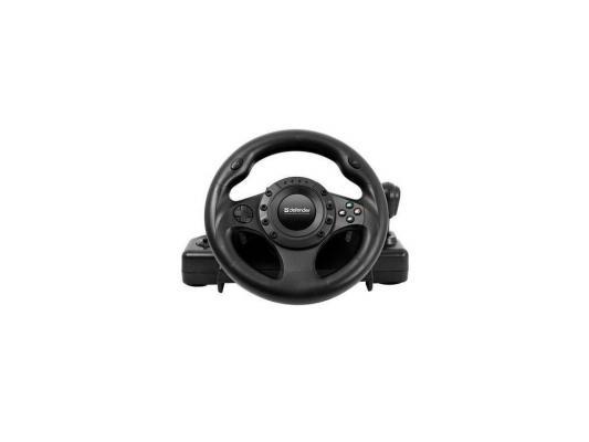 Руль Defender Forsage Drift GT (USB/PS2/PS3) 12 кн., рычаг коробки передач