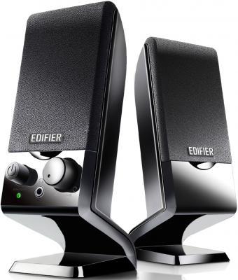 Колонки Edifier M1250 Black <2.0, 1Wx2, питание USB>
