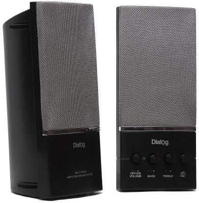 Колонки Dialog AM-12B Black 10W RMS-2.0