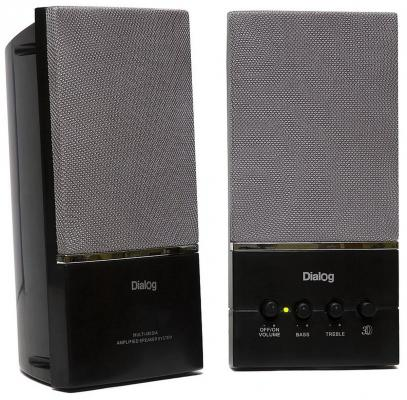 Колонки Dialog AM-13B Black 16W RMS-2.0