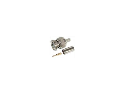 Переходник BNC 3   штекеры, 2шт, обжимные для коаксиала RG-59, oem bnc п – винт металл