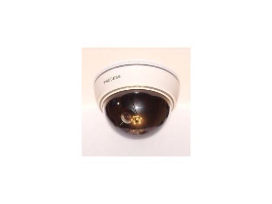 Муляж камеры видеонаблюдения Orient AB-CA-07 D, LED (мигает), датчик движения, полусфера большая муляж камеры видеонаблюдения