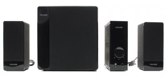 Колонки Microlab FC 360 <2.1, 2колонки+сабвуфер дерево> 45W RMS