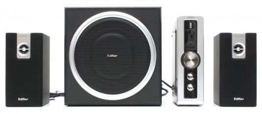 Колонки Edifier HCS2330 <RMS 9W x 2 + 35W> Black колонки dialog disco ad 06 black 24w rms 2 0