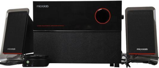 купить Колонки Microlab M200 <2колонки+сабвуфер, 40 Вт RMS> black недорого