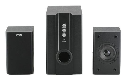 Колонки Sven SPS-820 Black rsr tb232c колонки tv стерео bluetooth шептались галерея soundbar с домашней гостиной висит стену звука черного