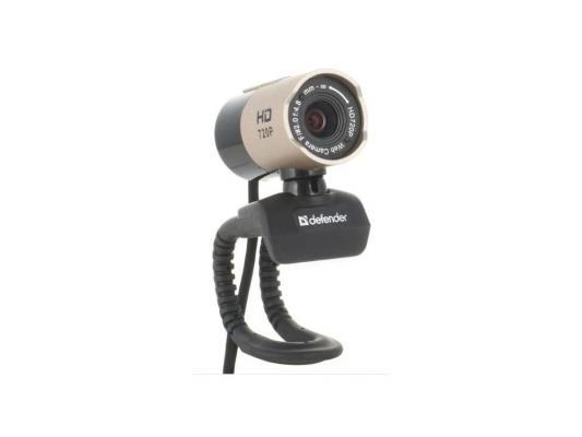 Вэб-камера Defender G-lens 2577 HD720p 2МП, 5сл. стекл.линза