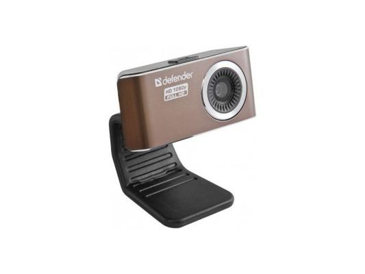 Вэб-камера Defender G-lens 2693 FullHD (HD 1080p) 2МП, фикс.фокус, 5сл. стекл.