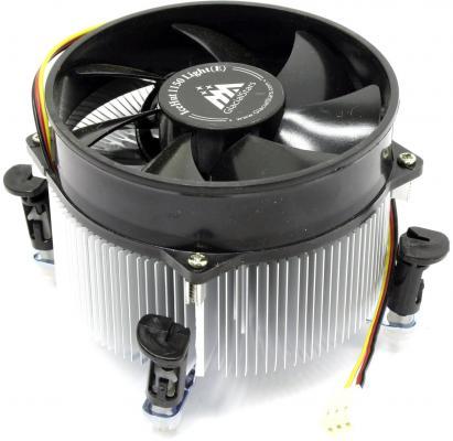 Кулер GlacialTech IceHut1150Light/ Intel/i3&i5/ 90Вт/s1156/25дБа/втулка/ОЕМ/3.4W max кулер для процессора glacialtech icehut 1010 silent 1150 1156 1155 82w 1500rpm 20dba втулка оем 1 08w