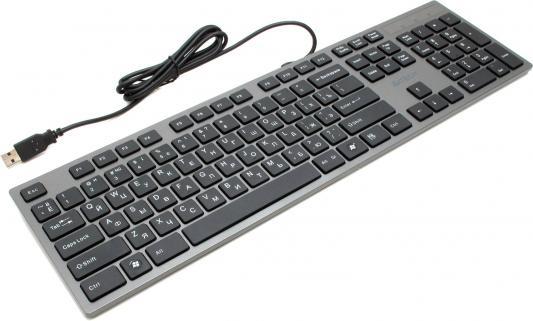 Клавиатура A4TECH KV-300H USB черный серый