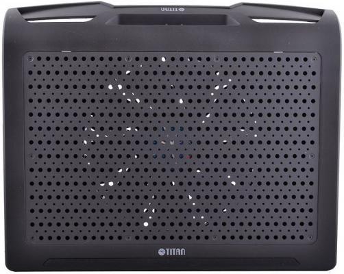 Подставка для ноутбука 17 Titan TTC-G25T/B4 алюминий/пластик 600-750rpm 20db Black теплоотводящая подставка для ноутбука 12 17 titan ttc g4tz laptop 12 17 usb серебристый