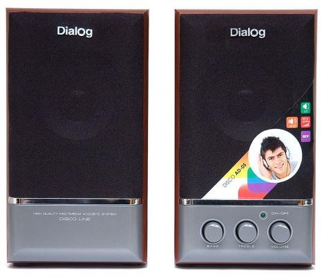 Колонки Dialog Disco AD-05 Cherry 20W RMS-2.0