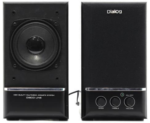 Колонки Dialog Disco AD-06 Black 24W RMS-2.0