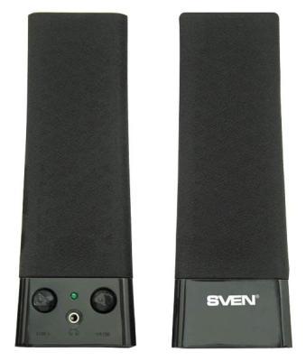 Колонки Sven 235 2.0 2х2Вт 100-20000Гц цена и фото