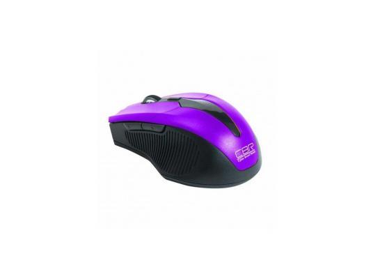 Мышь беспроводная CBR CM-547 фиолетовый USB мышь беспроводная cbr cm 500 серый usb