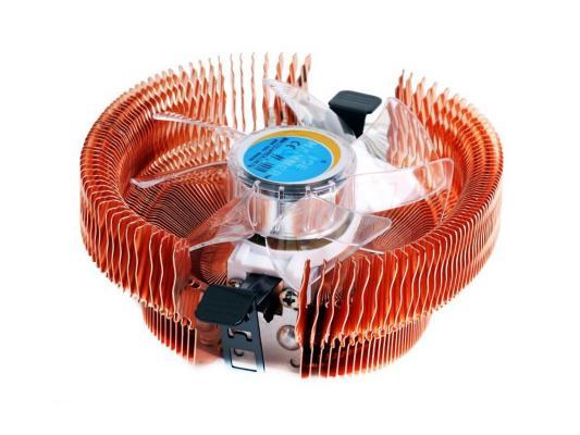 Кулер Ice Hammer IH-3776WV-B <SocketAM2/LGA775/1366, Cu, Neon Blue>