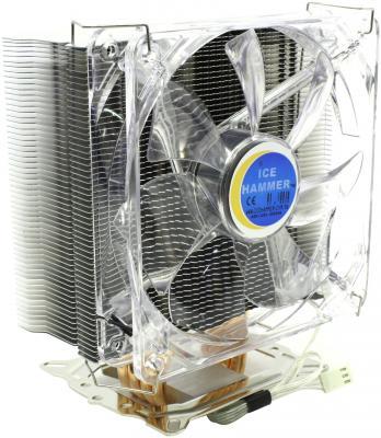 Кулер Ice Hammer IH-4350B <SocketAM2/754/939/940/LGA775, HeatpipeDirect, тепловые трубки >