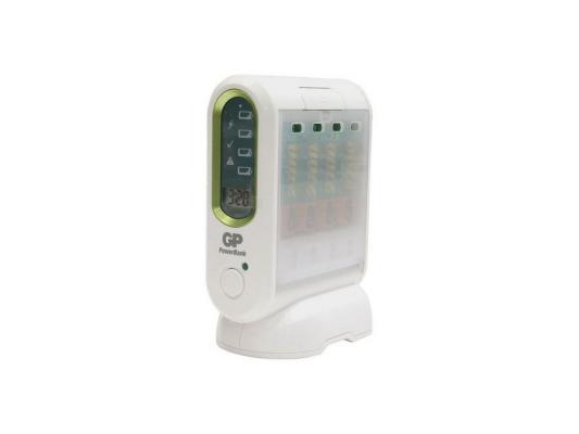 Зарядное устройство + аккумуляторы GP PowerBank PB80GS270SA-2CR4 2700 mAh AA 4 шт