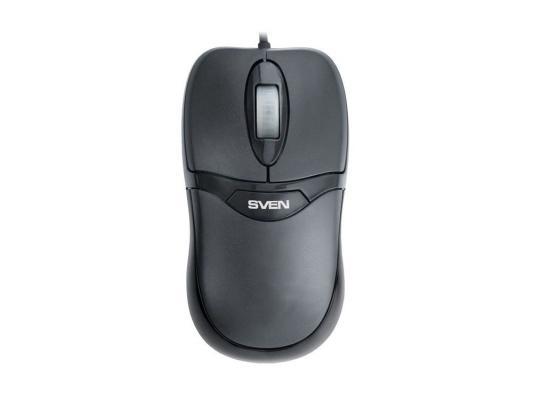 Набор клавиатура+мышь Sven Standard 310 Combo USB чёрный fuld ik3320p проводная клавиатура и мышь набор настольный ноутбук клавиатура и мышь набор черный бизнес офис дома
