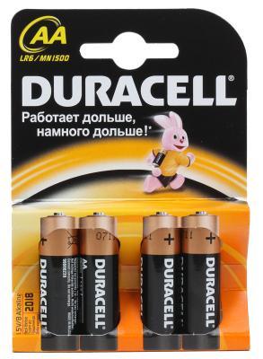 Батарейки Duracell Basic LR6-4BL AA 4 шт