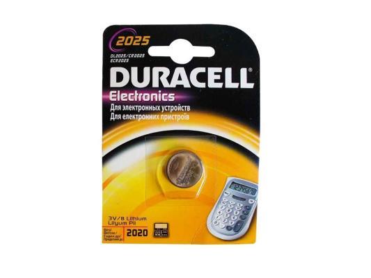 Батарейка Duracell Electronics CR2025 1 шт