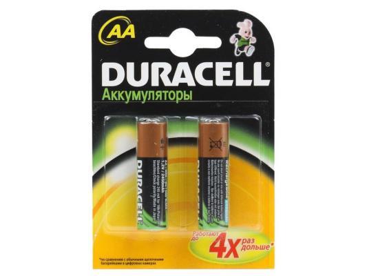 Аккумулятор Duracell TURBO HR6-2BL 2500 mAh AA 2 шт аккумулятор duracell hr6 2bl aa nimh 2400 мач 2 шт