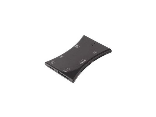 Карт-ридер USB 2.0 Konoos UK-14, 6 разъемов для карт памяти (SD/SDHC/MMC/TF/MS/M2/XD/CF/MD),