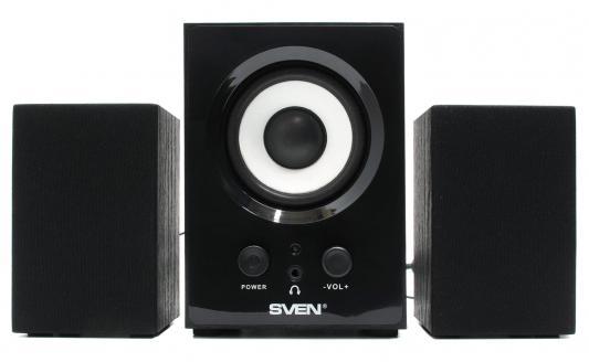 Колонки Sven MS-80 Black акустическая система sven ms 80 black