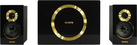 Колонки Sven MS-1085  2.1   2 х 13+20 Вт Gold черный