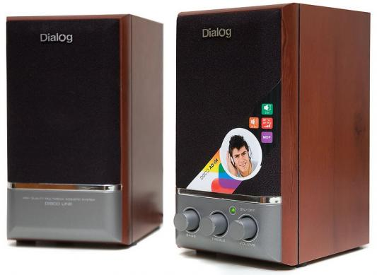 Колонки Dialog Disco AD-04 Cherry 16W RMS-2.0 livolo us standard base of wall light touch screen remote switch ac 110 250v 3gang 2way without glass panel vl c503sr page 8