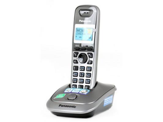 Телефон Panasonic KX-TG2511RUM радиотелефон dect panasonic kx tg6811rub черный