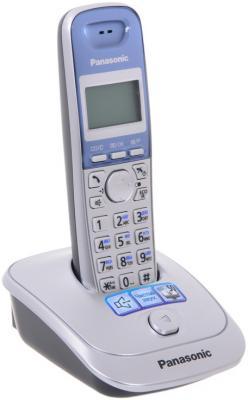 Телефон Panasonic KX-TG2511RUS атс panasonic kx tem824ru аналоговая 6 внешних и 16 внутренних линий предельная ёмкость 8 внешних и 24 внутренних линий
