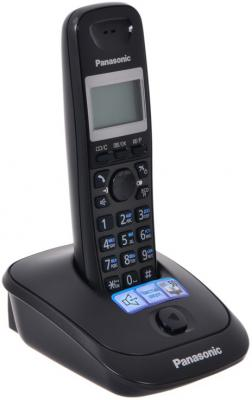 Телефон Panasonic KX-TG2511RUT радиотелефон dect panasonic kx tg6811rub черный