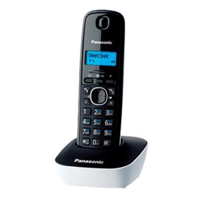 Телефон Panasonic KX-TG1611RUW радиотелефон