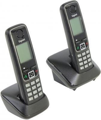 Телефон Gigaset А420 Duo Black (Dect, две трубки)