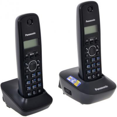 все цены на Телефон Panasonic KX-TG1612RUH (две трубки) онлайн