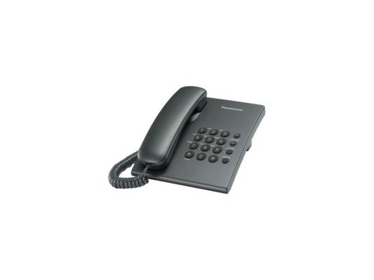 Телефон Panasonic KX-TS2350RUT (Flash) проводной телефон panasonic kx ts2570ruw