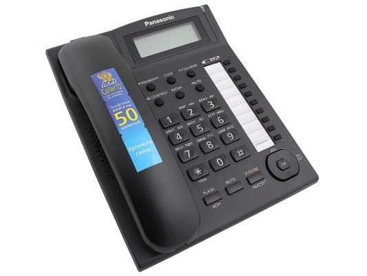 Телефон Panasonic KX-TS2388RUB черный телефон panasonic kx ts2352rub черный