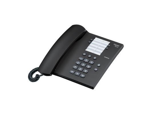Телефон Gigaset DA100 Black (проводной) телефон проводной gigaset da 210 im white